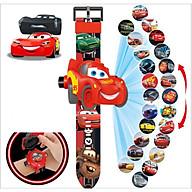 Đồng hồ chiếu 24 hình xe đua mặt 3D Siêu Ngầu thumbnail
