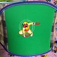 Đai an toàn đi xe máy KACHOO - Loại thêu lớn (Giao màu và hình ảnh ngẫu nhiên) thumbnail