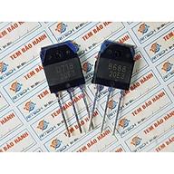 Combo 4 Cặp Transistor D718(2SD718-NPN) và B688(2SB688-PNP) 120V 8A 80W TO-3P(I) HÀNG CHÍNH HÃNG thumbnail