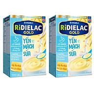 COMBO 2 HỘP BỘT ĂN DẶM RIDIELAC GOLD YẾN MẠCH SỮA - HỘP GIẤY 200G thumbnail