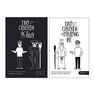Sách - Combo Trò chuyện với ác quỷ và Trò chuyện với thượng đế (tặng kèm bookmark) thumbnail