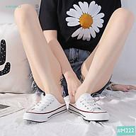 Giày Sục Vải MINSU M222 Kiểu Dáng Hàn Quốc Kết Hợp Giày Lười Không Gót HOT Năm 2021 Đơn Giản Dễ Mang Cho Bạn Nữ Đi Học thumbnail