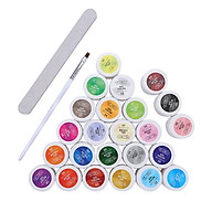 5ml 36 Colors Women Fashion Phototherapy Glue Nail UV Led Lamp Nail Polish Tool Kit thumbnail