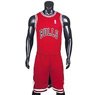 Bộ quần áo bóng rổ Bulls - Đỏ thumbnail