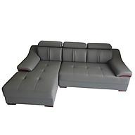 Ghế Sofa Da Hàn Quốc Cao Cấp Góc Chữ L _ An Toàn Người Dùng _ Màu Xám _ Size 2500 x 1600 thumbnail