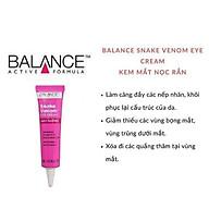 Combo Kem Dưỡng Da Vùng Mắt Balance Snake Venom Eye Cream Anti-Ageing 15ml và Tinh Chất Cấp Nước Balance Active Formula Hyaluronic Deep Moisture Serum 30ml thumbnail