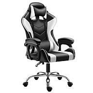 Ghế gaming cao cấp dành cho game thủ BG model mới E02-S WHITE (hàng nhập khẩu) thumbnail