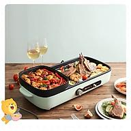 Bếp lẩu nướng 2 ngăn tiện lợi DT350 dành cho gia đình. thumbnail