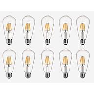 Bộ 10 bóng đèn Led ST64 6W đui E27. thumbnail