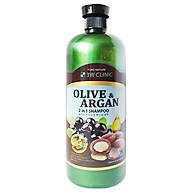 Dầu gội Olive & Argan 2 trong 1 3W CLINIC OLIVE&ARGAN 2 IN 1 SHAMPOO thumbnail