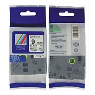 Nhãn TZ2-221 tiêu chuẩn - Chữ đen trên nền trắng 9mm - Hàng nhập khẩu thumbnail