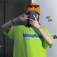 Áo thun nữ tay lỡ SAM CLO freesize phông form rộng dáng Unisex, mặc lớp, nhóm, cặp in chữ SEAPEMENT màu xanh chuối thumbnail