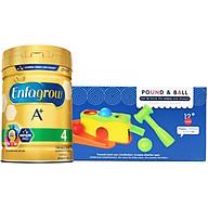 Combo 1 Lon Sữa Bột Enfagrow A+ 4 830g Tặng Đồ Chơi Đập Banh thumbnail