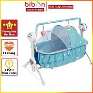 Ghế rung tự động cho bé Bibon kèm điều khiển từ xa, gập gọn dễ dàng thumbnail