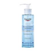 Gel Rửa Mặt Eucerin DermatoCLEAN HYALURON Cleansing Gel Da Nhạy Cảm (200 ml) thumbnail