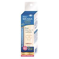 Sữa Chống Nắng Dưỡng Da Và Trang Điểm Nhẹ Sunplay Skin Aqua Clear White CC Milk SPF50+, PA++++ (25g) thumbnail