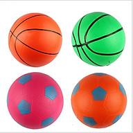 Quả bóng đá cao su cho trẻ em (màu ngẫu nhiên) thumbnail