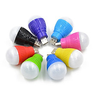 Bóng đèn ngủ mini cắm USB đa năng, tiện ích, tiết kiệm điện năng cao cấp- Giao màu ngẫu nhiên thumbnail