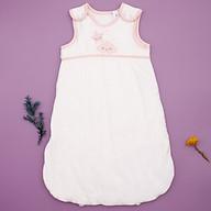 Túi ngủ 3 lỗ chất cotton lót bông ấm hình mây hồng cho bé thumbnail