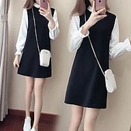 Đầm váy Nữ Haint Boutique Tay Dài Dáng Suông - Váy Nữ thời Trang Phong Cách Hàn Quốc Hb48 thumbnail