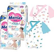 Combo 2 gói tã dán quần Merries size L54 L44 XL44 XL38 XXL26 tặng bộ Yukata cao cấp 36M và đồ chơi Toys House thumbnail