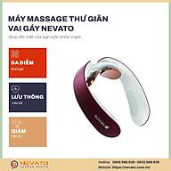 Máy Massage Vai Gáy Bằng Xung Điện Dành Tặng Cho Bố Mẹ NEVATO NV-939M3 thumbnail