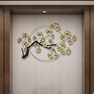 Phù điêu trang trí - phù điêu cây bạch quả trang trí gắn tường( kt 120x80cm) thumbnail