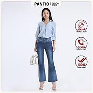 Áo sơ mi chất liệu thô mỏng thiết kế tay áo đặc biệt dáng suông FAS52320- PANTIO thumbnail