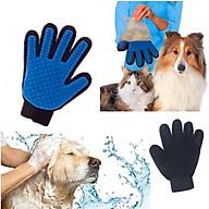 Găng tay tắm và lấy lông cho chó mèo Kún Miu thumbnail