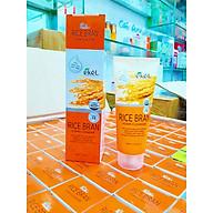 Sữa rửa mặt Gạo - Ekel Foam Cleanser Rice Bran 100ml (Tặng 2 mặt nạ Jant Blanc) thumbnail