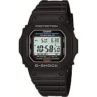 Đồng hồ nam dây nhựa Casio G-Shock G-5600E-1DR thumbnail