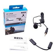 Micro cài áo cho camera action Boya BY-LM20 - Hàng chính hãng thumbnail