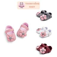 Giày Tập Đi Cho Bé Gái , Giày Hoa Trẻ Em Thanh Hằng Baby Từ 11 - 13 Cm thumbnail
