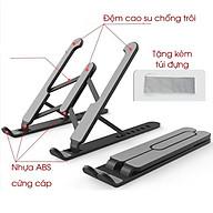 Giá đỡ laptop stand nhựa ABS hỗ trợ tản nhiệt có thể gấp gọn chỉnh độ cao thumbnail