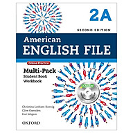 American English File 2A Multi-Pack with Online Practice and iChecker thumbnail