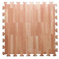Bộ 6 miếng thảm xốp vân gỗ lót sàn 60 x 60 thumbnail