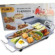 Bếp Nướng Điện Fujika FJ-EG3515 Công Suất 1350W Vân Đá Chống Dính Công Nghệ Nhật Bản-Hàng Chính Hãng thumbnail