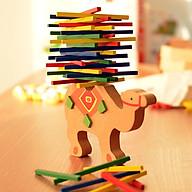 Đồ chơi gỗ cân bằng hình voi và lạc đà siêu xinh cho bé thumbnail