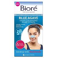 Biore Blue Agave Deep Cleansing Pore Strips 6 thumbnail