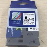 Nhãn TZ2-FX21 siêu dẻo - Chữ đen trên nền trắng 9mm - Hàng nhập khẩu thumbnail