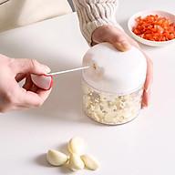 Dụng cụ cắt tỏi, máy băm tỏi rau củ thức ăn nhỏ gọn dễ sử dụng thumbnail