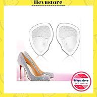 Cặp Lót giày Giảm Đau Bàn Chân Trước Giày Cao Gót, Lót đệm mũi giày silicon Êm Chân thumbnail