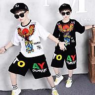 Set Đồ Bé Trai chất cotton mát mịn thấm hút mồ hôi tốt phong cách hàn quốc, thời trang trẻ em thương hiệu BAW mã 98-99 thumbnail