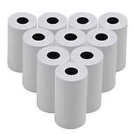 5pcs White Blank Thermal Paper Roll 57x30mm 2.17x1.18in Photo Picture Receipt Memo Printing Compatible with Pocket thumbnail