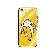 Ốp Lưng Kính Cường Lực cho điện thoại Iphone 6 Plus 6s Plus - Banana thumbnail
