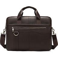 Túi xách cặp da đựng laptop da bò cao cấp T39 38.5x28x7cm thumbnail