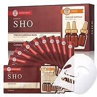 Hộp 10 miếng Mặt nạ tinh chất Ampoule khóa ẩm SHO Timeless Ampoule Mask - (mặt nạ 27ml + kem mắt 1.5ml x 10) thumbnail