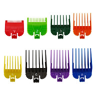 8 Sizes Professional Cutting Guide Comb Set Colorful Limit Comb Set Replacement for Wahl Electric Hair Trimmer Shaver thumbnail