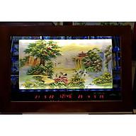 Tranh đá đèn led lịch vạn niên - PHONG CẢNH NON NƯỚC HỮU TÌNH 2086 thumbnail