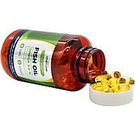 Hộp 150 Viên Omega 369 (dầu cá, tinh dầu thông đỏ, tinh dầu hoa anh thảo, dầu hạt lanh Canada) Honeyland thumbnail